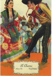 El Charro Cafe 140 E Broadway Tucson Arizona Menu Cover Series 4 by 6 Size