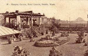 Hanging Garden, Hotel Lincoln,Seattle,Washington,00-10s