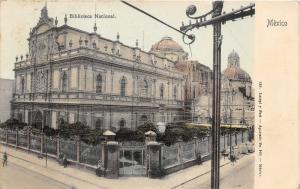 Mexico City Mexico~Biblioteca Nacional~National Library~People/Dog~Iron Fence~Pc