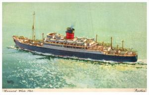 S.S. Parthia  Cunard Line