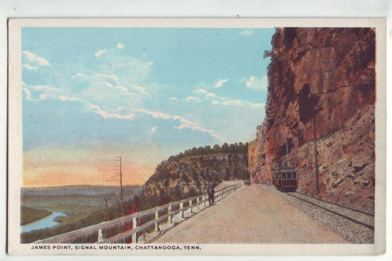 P738 old card james pt, signal my, chattanooga tenn