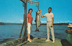 Canada Tyee Fishing Vancouver Island British Columbia
