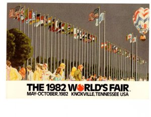 1982 World's Fair, Knoxville Tennessee, Flags