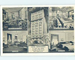 1940's HOTEL SCENE New York City NY H0515