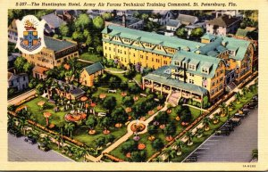 Florida St Petersburg The Huntington Hotel Army Air Forces Technical Training...