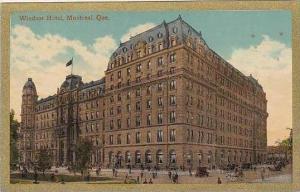 Canada Quebec Montreal Windsor Hotel