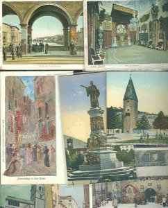 pc624 postcard Italy EIGHT MOBSC