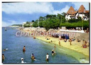 Modern Postcard Bassin D'Arcachon The Moulleau Beach