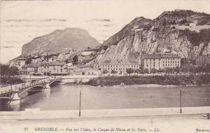 Grenoble (Isère), France, PU-1919; Vur sur l'Isere