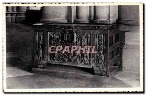 Old Postcard Ypres Cathedrale St Martin 15th Cases