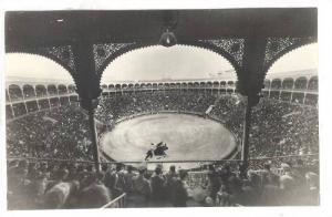 RP: Bull Fight , Madrid , Spain , 30-40s