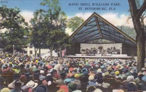 ST. PETERSBURG, Florida; Band Shell Williams Park, 30-40s
