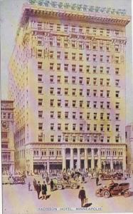 Minnesota Minneapolis Radisson Hotel