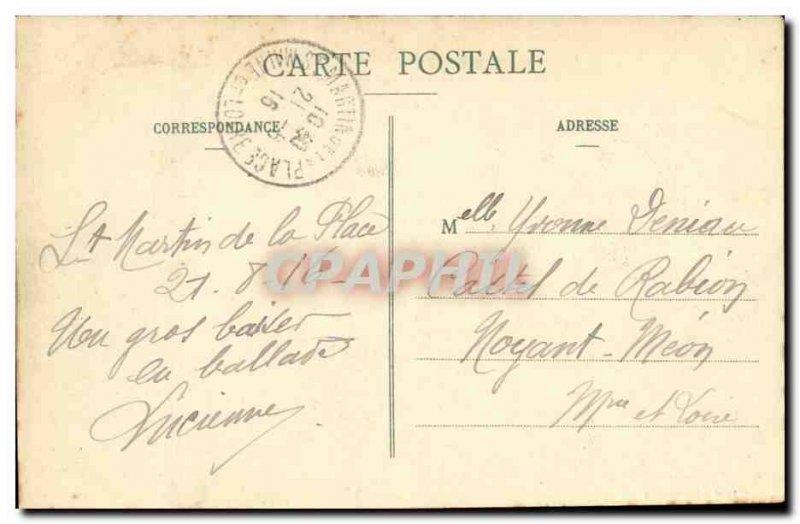 St Martin's Place Old Postcard The Chateau de la Martiniere