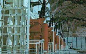 Page, Arizona, AZ, Glen Canyon Dam, Transformer Deck, Vintage Postcard g5699