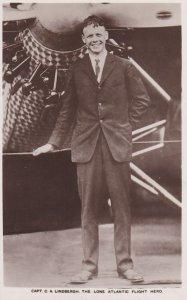 RP: Capt. C.A. Lindbergh, The lone Atlantic Flight Hero , 1927 ; TUCK