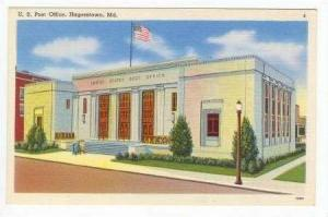 Post Office, Hagerstown, Maryland, 30-40s