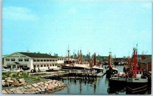 Gloucester, Massachusetts Postcard GLOUCESTER HOUSE RESTAURANT Dated 1974