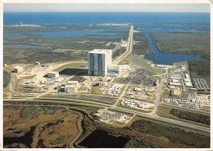NASA Space Collection, aerial view, Vehicle Assembly Building 1991