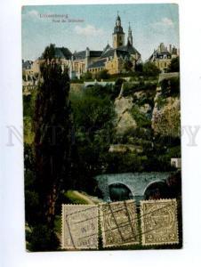 138724 LUXEMBOURG Bridge Pont du Stierchen Vintage PC