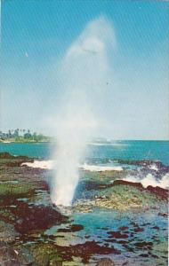 Hawaii Kauai Spouting Horn