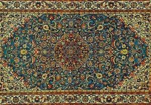 Iran Persian Carpet Postcard