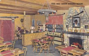CARLSBAD, New Mexico, 30-40s; The Cavern City, Red Barn Dining room