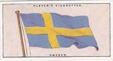 Players Vintage Cigarette Card Flags League Of Nations No 47 Sweden  1928