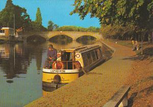 England The River Avon At Evesham