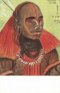 dutch new guinea, Ethnic Types, Toekoe Isioe Borem Papua (1920s) Mission