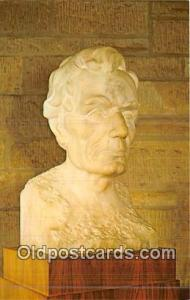Sculptor EH Daniels Bust of Abraham Lincoln