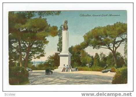 General Eliott's Monument, Gibraltar, 00-10s
