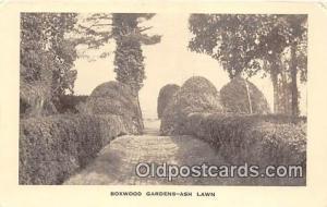 Boxwood Gardens Ash Lawn