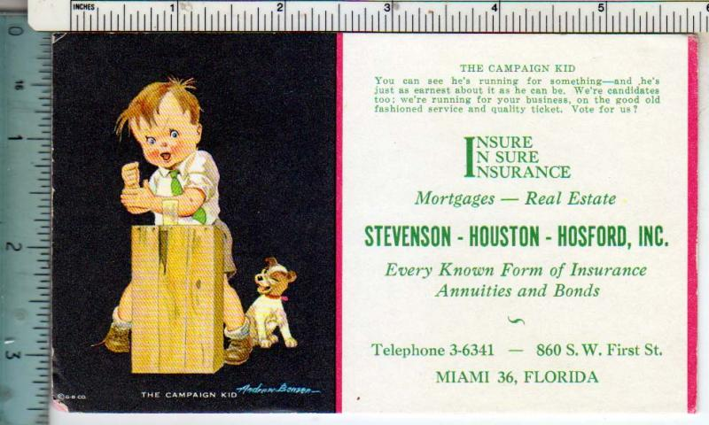 Insurance - Stevenson, Houston, Hosford Inc. Miami FL