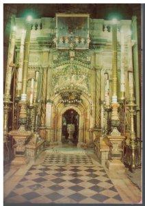 Postcard - Chapel of the Angel Anteroom of the Tomb of Jesus - Jerusalem Israel