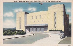 North Carolina Asheville Municipal Auditorium