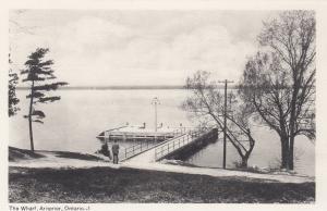 ARNPRIOR, Ontario, Canada, 1930s; The Wharf