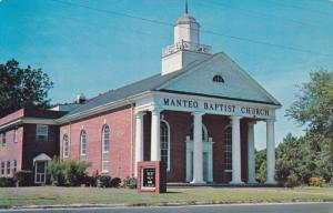 MANTEO, North Carolina; Baptist Church, PU-1966