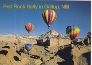 Albuquerque International Balloon Fiesta, Red Rock Rally in Gallup, New Mexic...