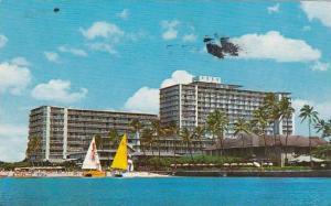 Hawaii Honolulu The 800 room Reef Hotel 1971