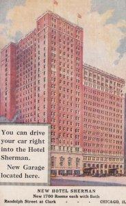 CHICAGO , Illinois , 00-10s ; New Hotel Sherman