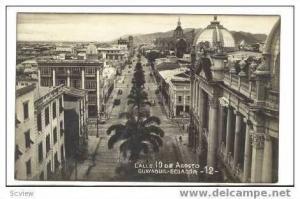 RP Calle 10 De Agosto, Guayaouil- Ecuador,PU 1951