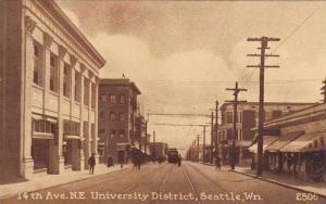 14th Ave., N.E. University District, Seattle, Washington, 00-10s