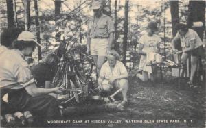 Watkins Glen State Park New York~Woodcraft Camp @ Hidden Valley Camp~1952 Pc