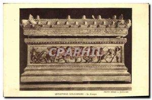 Postcard From Old Sarcophagus alexander Sc Greek