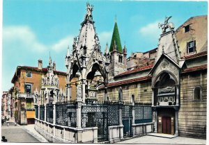 VERONA, Arche Scaligere, Tombs of the Scala Family, unused Postcard