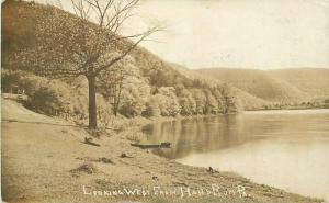 C-1910 Hall Run Venango County Pennsylvania RPPC Photo Postcard 3405