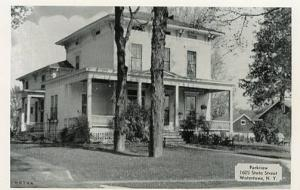 NY - Watertown, Parkview Tourist Home, 1605 State Street