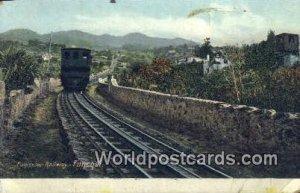 Funicular Railway, Funchal Spain Tarjeta Postal Unused