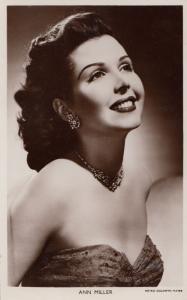 Ann Miller Picturegoer Photo Postcard